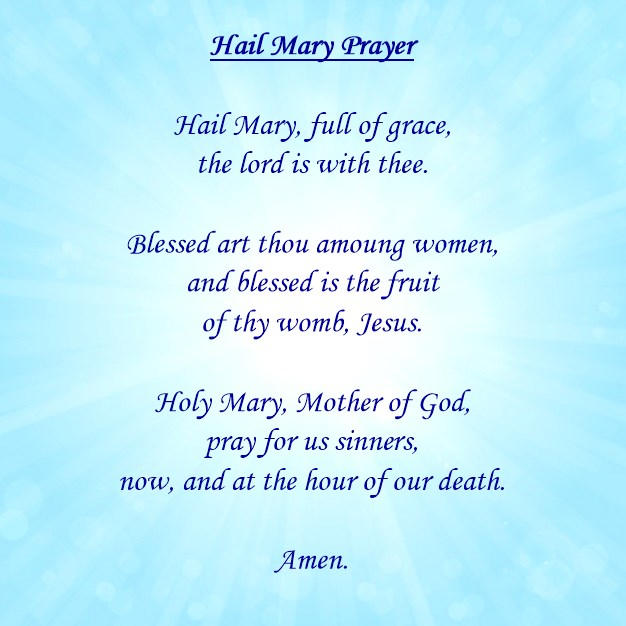 Hail Mary Prayer